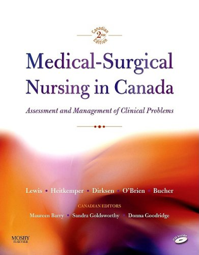 9781897422014: Medical-Surgical Nursing in Canada: Assessment and Mangement of Clinical Problems