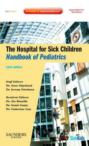 9781897422045: The Hospital for Sick Children Handbook of Pediatrics, 11e
