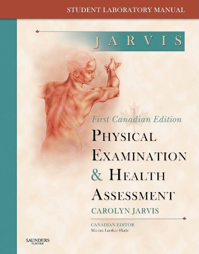 student laboratory manual physical examination by carolyn jarvis rh abebooks com Microbiology Laboratory Manual Answers Sheets jarvis student laboratory manual for physical examination and health assessment