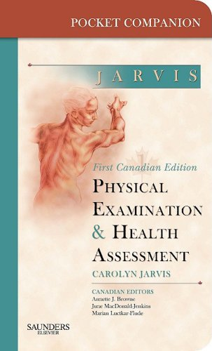 9781897422250: Pocket Companion for Physical Examination and Health Assessment, Canadian Edition