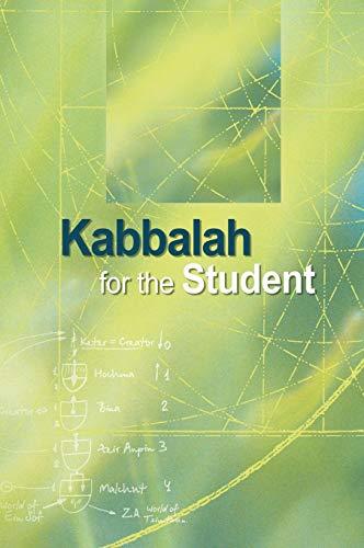 9781897448151: Kabbalah for the Student