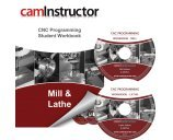 9781897466889: CNC Programming Workbook - Mill & Lathe