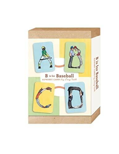 9781897476550: B Is for Baseball: Alphabet Cards