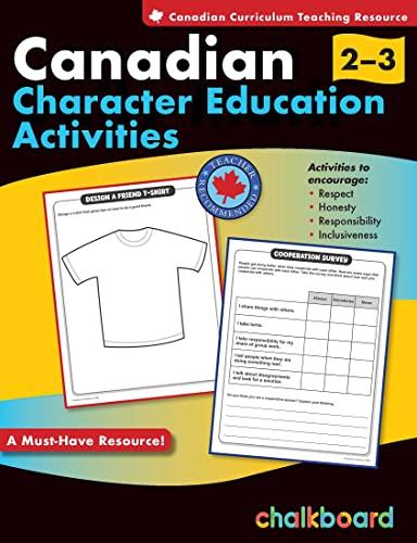 Canadian Character Education Activities Grades 2-3: Turnbull, Demetra