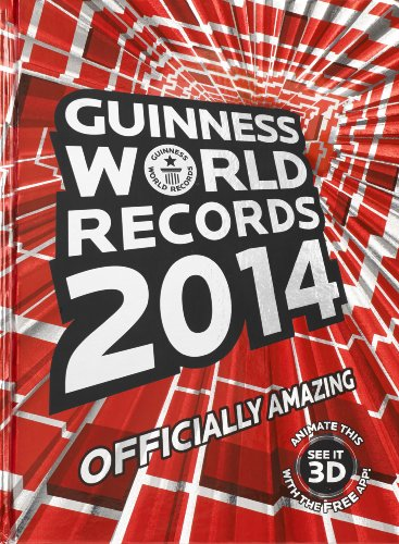 9781897553282: Guinness World Records 2014 : Officially Amazing