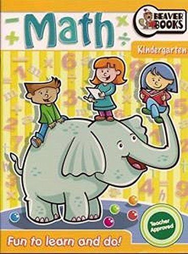 9781897554258: Kindergarten Math Workbook (Fun to learn and do)