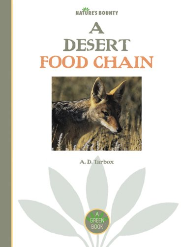 9781897563090: Nature's Bounty: A Desert Food Chain