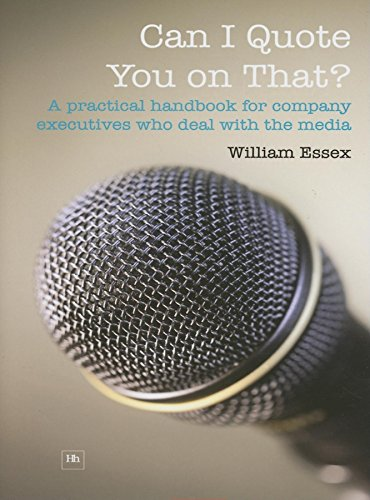 9781897597897: Can I Quote You on That?: A practical handbook for company executives who deal with the media