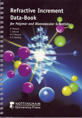 9781897676295: Refractive Increment Data-book: for Polymer and Biomolecular Scientists