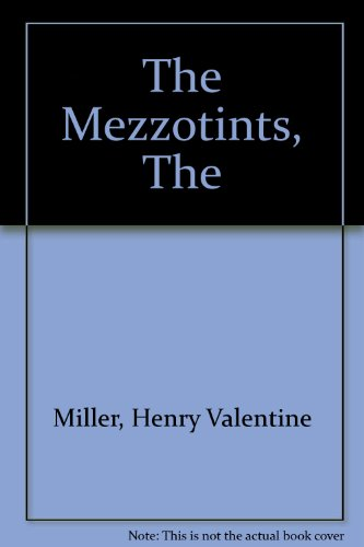 9781897722558: The Mezzotints, The