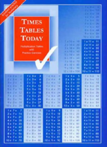 9781897737002: Times Tables Today