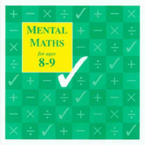 9781897737132: Mental Maths for Ages 8-9