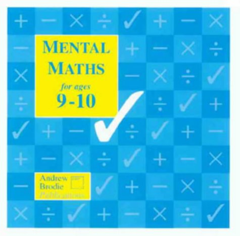 9781897737187: Mental Maths for Ages 9-10