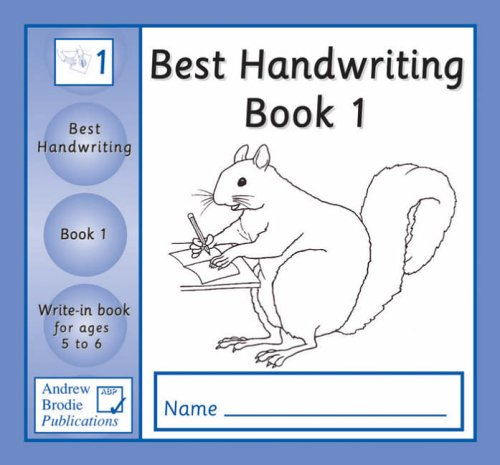 9781897737217: Best Handwriting Year 1: Write-in Practice Book for Ages 5-6