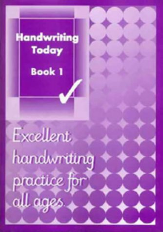 Handwriting Today: Bk. 1: Andrew Brodie
