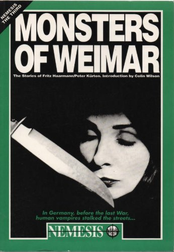 Monsters of Weimar: The Stories of Fritz: Theodor Lessing /