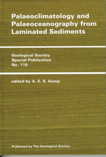 9781897799673: Palaeoclimatology and Palaeoceanography from Laminated Sediments (Geological Society Special Publication Ser. ; No. 116)
