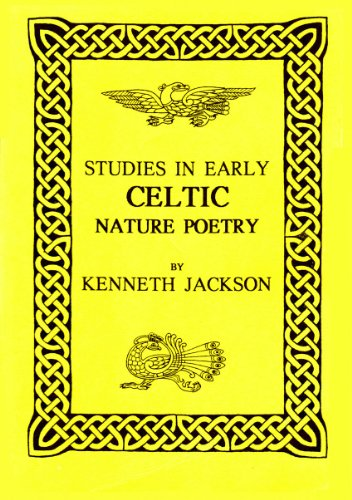 9781897853795: Studies in Early Celtic Nature Poetry