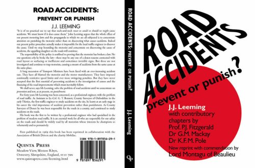 9781897856291: Road Accidents: Prevent or Punish?