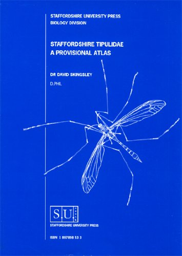 9781897898536: A Provisional Atlas of the Tipulidae of Staffordshire