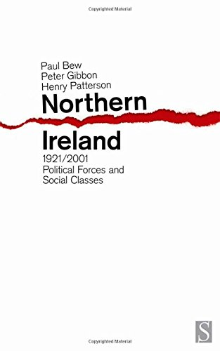 9781897959381: Northern Ireland, 1921-2001: Political Forces and Social Classes