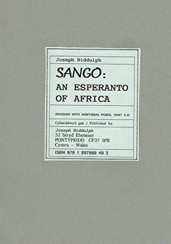 9781897999493: Sango: An Esperanto of Africa