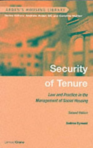 9781898001638: Security of Tenure (Arden's Housing Library)
