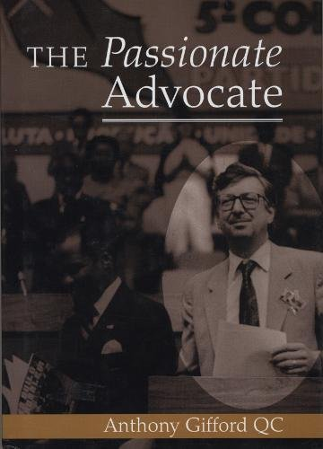9781898029885: The Passionate Advocate: An Autobiography