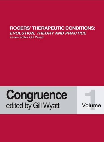 9781898059295: Congruence (Rogers Therapeutic Conditions Evolution Theory & Practice)