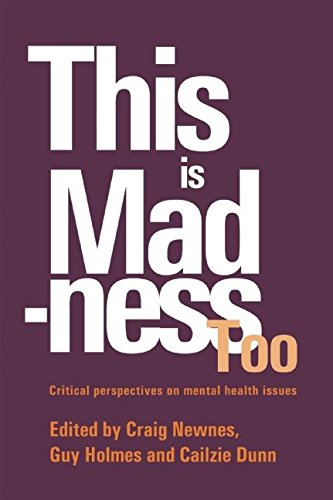 9781898059370: This is Madness Too: Critical Perspectives on Mental Health Services (Critical Psychology Division S)