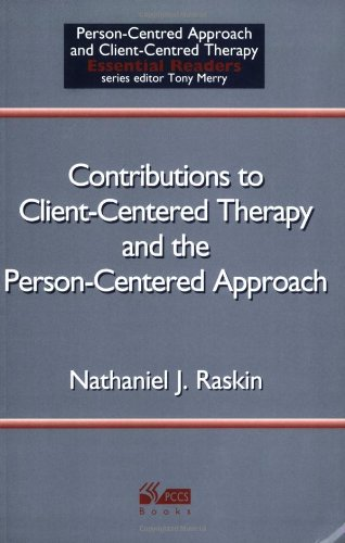 9781898059578: Contributions to Client-Centered Therapy and the Person-Centered Approach