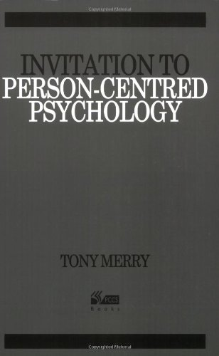 9781898059905: Invitation to Person-centred Psychology