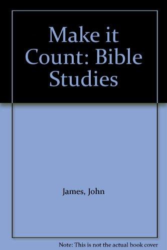 9781898077923: Make it Count: Bible Studies