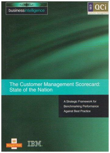 9781898085812: The Customer Management Scorecard: A Strategic Framework for Benchmarking Performance Against Best Practice