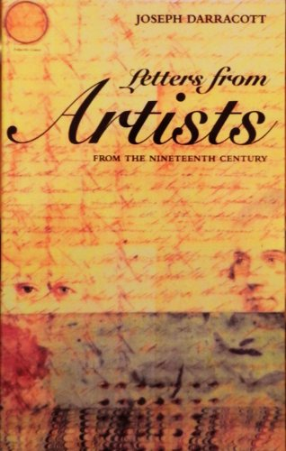 Letters from Artists in the Nineteenth Century: Joseph Darracott
