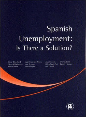 9781898128182: Spanish Unemployment: Is There a Solution?
