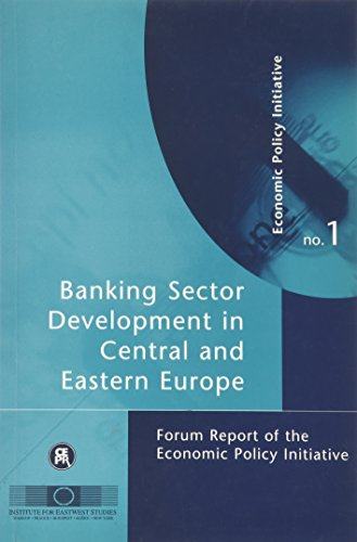 9781898128243: Banking Sector Develpment in Central and Eastern Europe: Forum Report of the Economic Policy Initiative (Forum Reports of the Economic Policy Initiative)