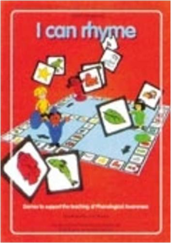 9781898149927: I Can Rhyme: Games to Support the Teaching of Phonological Awareness
