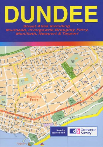 9781898196556: Dundee Street Atlas
