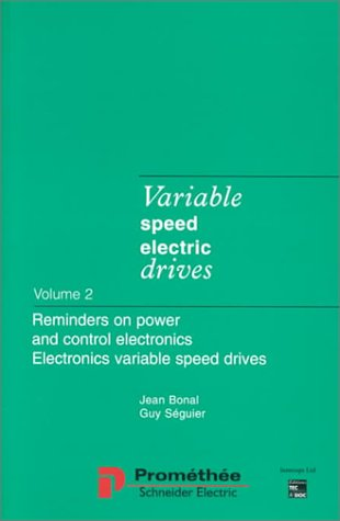 Variable Speed Electric Drives (1898298696) by Bonal, Jean; Seguier, Guy