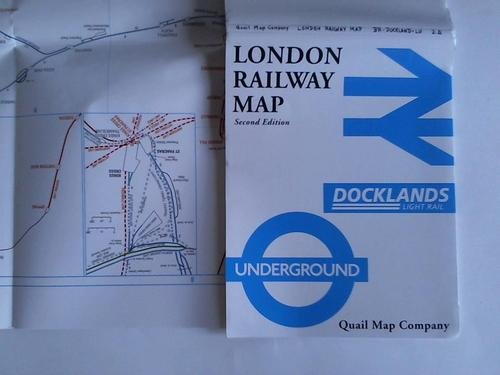 9781898319542: London Railway Map