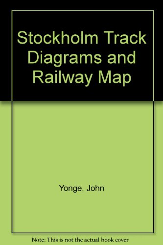 9781898319627: Stockholm Track Diagrams and Railway Map