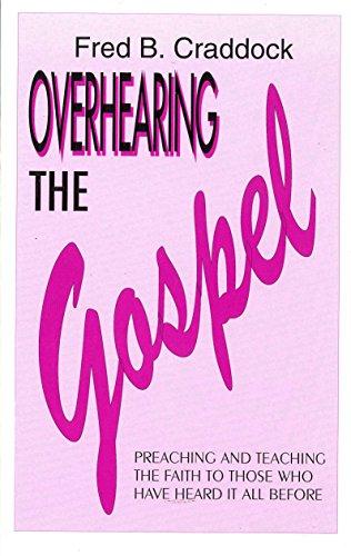 9781898362067: Overhearing the Gospel