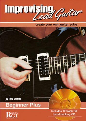 9781898466352: RGT - Improvising Lead Guitar, Beginner Plus
