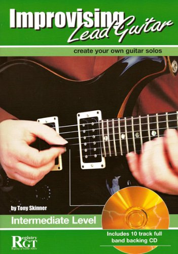 9781898466376: RGT - Improvising Lead Guitar Intermediate
