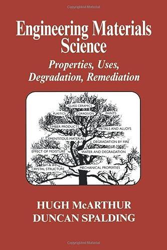 9781898563112: Engineering Materials Science: Properties, Uses, Degradation, Remediation (Engineering Science)