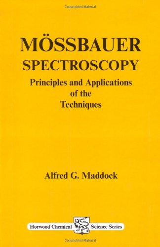 Mossbauer Spectroscopy: Principles & Applications of the: Maddock, Alfred G.
