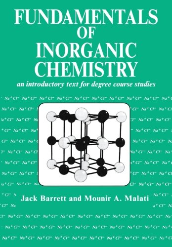 9781898563389: Fundamentals of Inorganic Chemistry: An Introductory Text for Degree Studies (Albion Chemical Science Series)