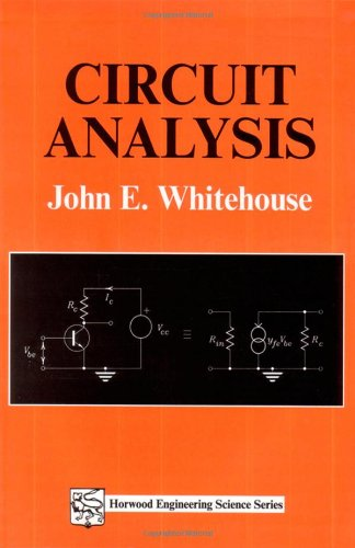 9781898563402: Circuit Analysis (Woodhead Publishing Series in Electronic and Optical Materials)
