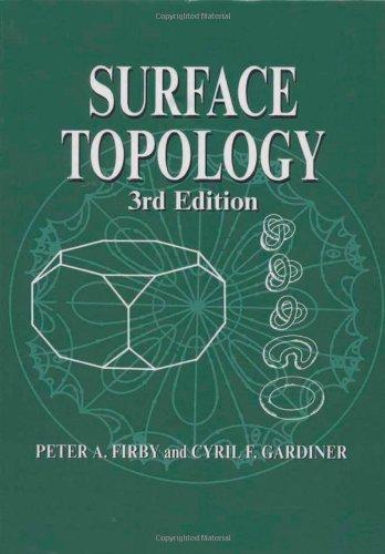 Surface Topology (Mathematics and Its Applications (Ellis Horwood Ltd))